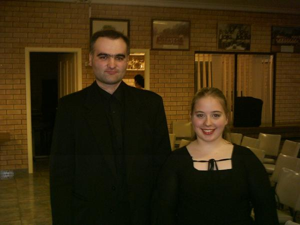 Ann-Elise Koerntjes and Pavel Mangasarian (Russia)