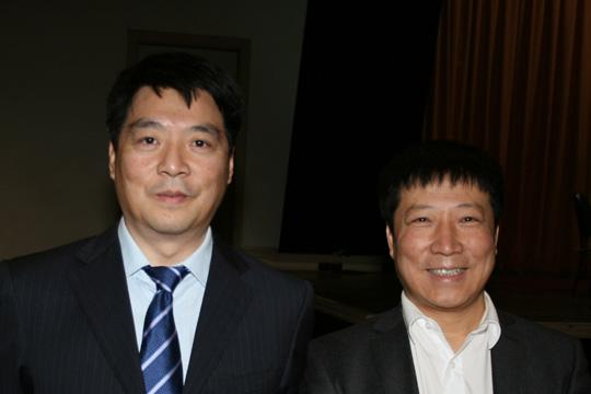 Xu Da Wei, Wang Hong Yu Adjudicators from China