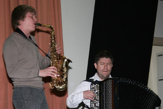 Dmitry Zhdanov and Aleksey Peresidliy